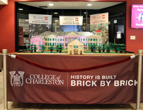 Check Out the Cistern Yard LEGO Model at Stern Student Center