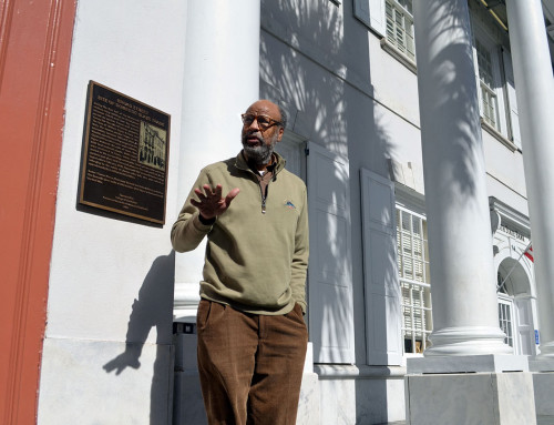 Center for the Study of Slavery in Charleston Sponsors New Historical Marker
