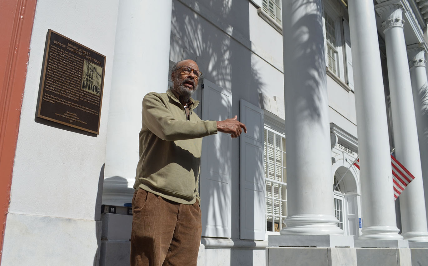 Center for the Study of Slavery in Charleston Sponsors New Historical Marker