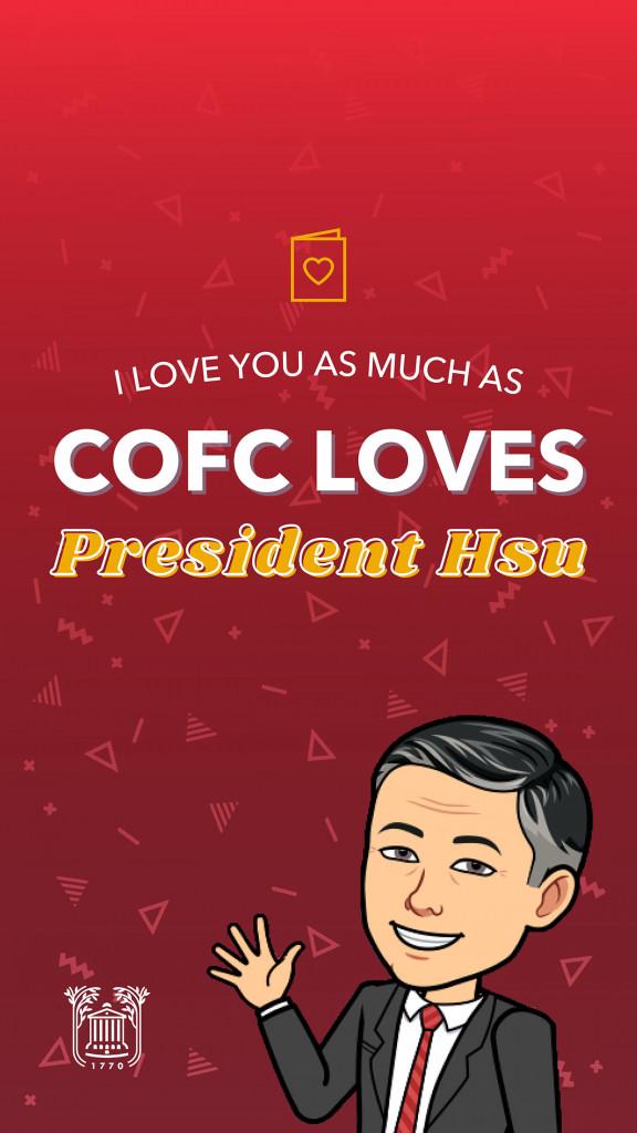 president hsu valentine