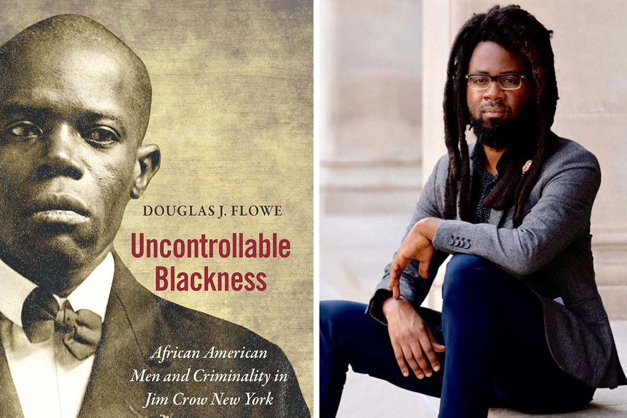 Uncontrollable Blackness book cover and author