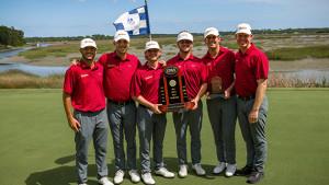 men's golf team wins the caa golf championship