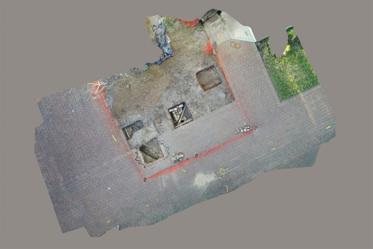 3d view of excavation.