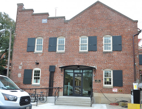 Physical Plant Building Gets a Facelift