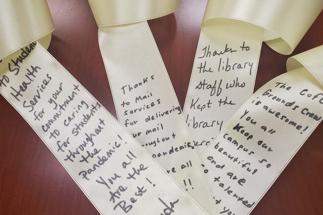 gratitude ribbons