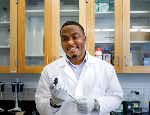 Biology Grad Paves New Paths as Scholar, Leader