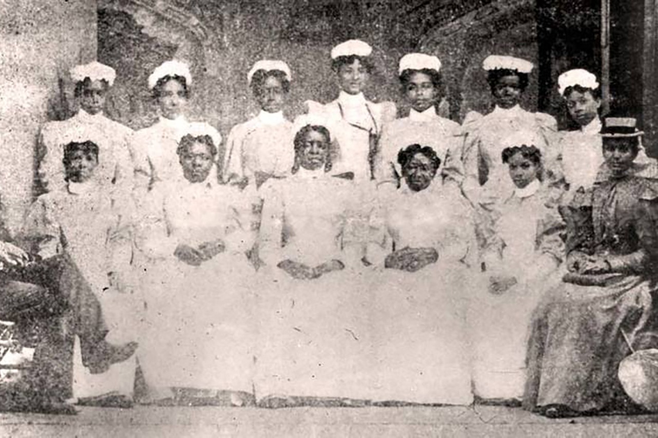 black nurses from the early 1900s