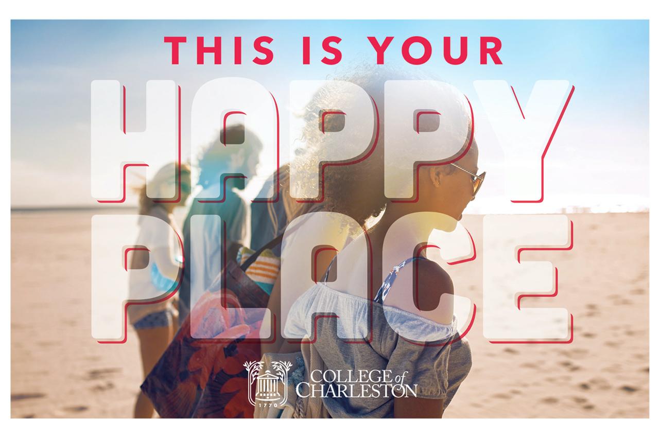 Happy Place Postcard