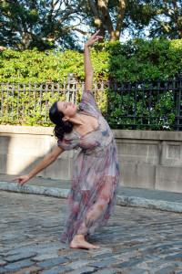 Jayne Pardys in a dance pose
