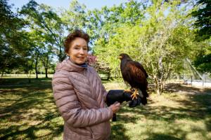 Martha Dougherty, Bird's Of Prey Center Education Volunteer Staff Member, CofC Teacher for 20+ years