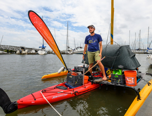 Alumnus' Kayak Voyage Aims to Raise Climate Change Awareness