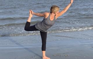 alicia caudill in yoga pose
