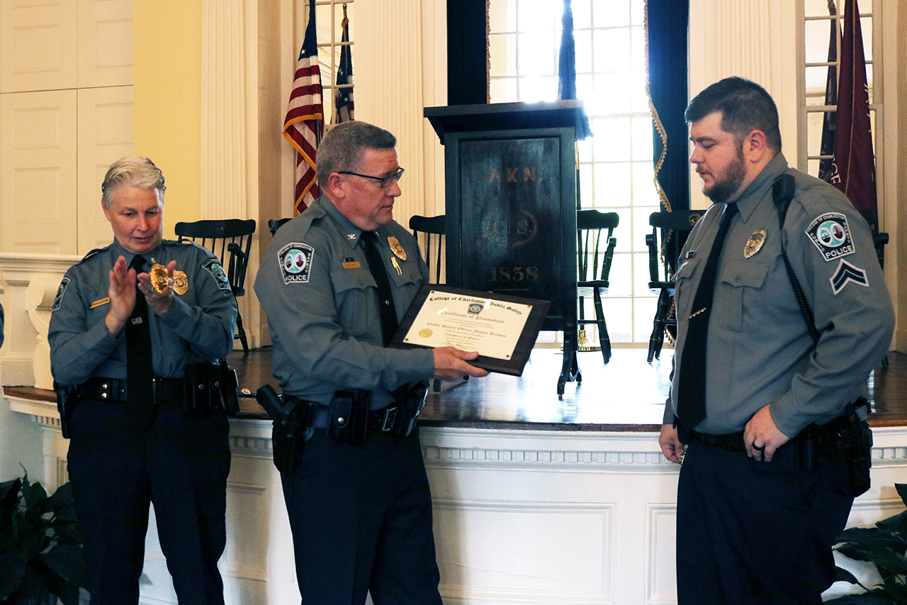 Public safety promotions event