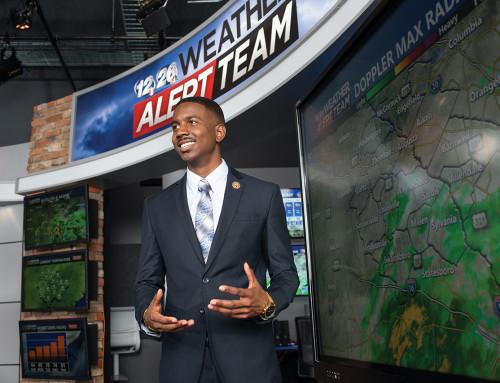 Meteorology Alum Forecasts Sunny Days Ahead