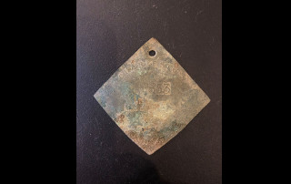 Slave Badge found at the College of Charleston
