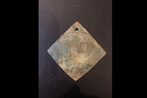 CofC Faculty, Students Discover Slave Badge on Campus