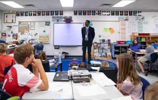 elementary education major kory roberts student teaching in 2019