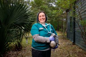 Kim King, Bird's Of Prey Center Clinic Volunteer Staff Member, CofC Grad