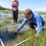 Honors College Summer Institute's pre-college Saving Biodiversity in the Anthropocene with visiting Professor Chris Freeman