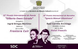 Premio Internacional de Narrativa 'Ignacio Manuel Altamirano