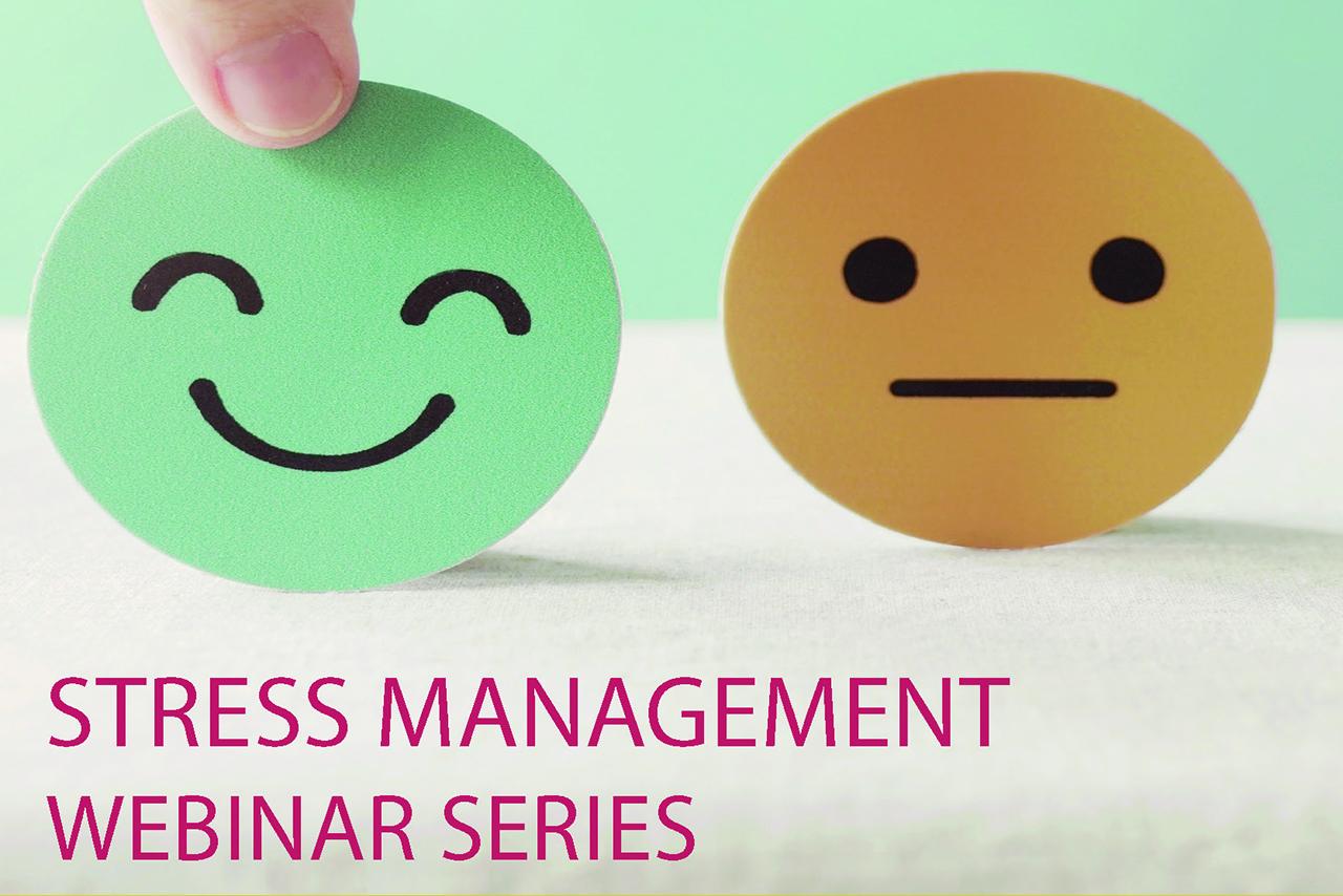 stress management webinar series