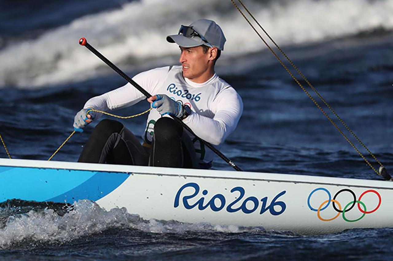 Juan Maegli at the 2016 Rio Games