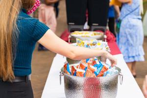 back-to-school ice cream social