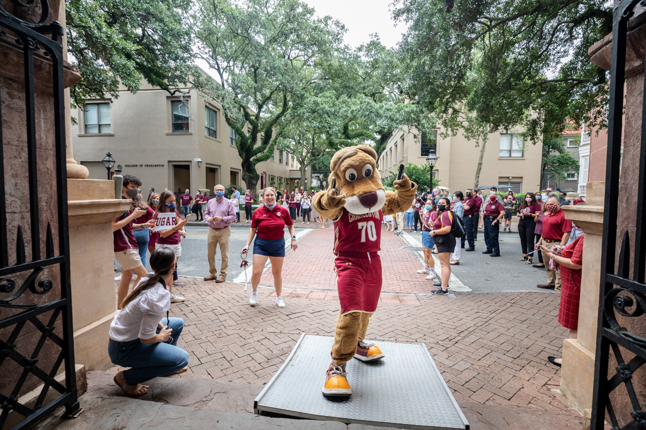 College of Charleston students celebrate the Class of 2025 at Convocation.