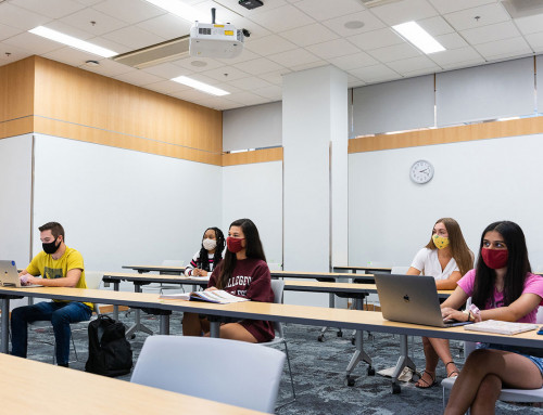 President Hsu Provides COVID-19 Update, Reminders to Students