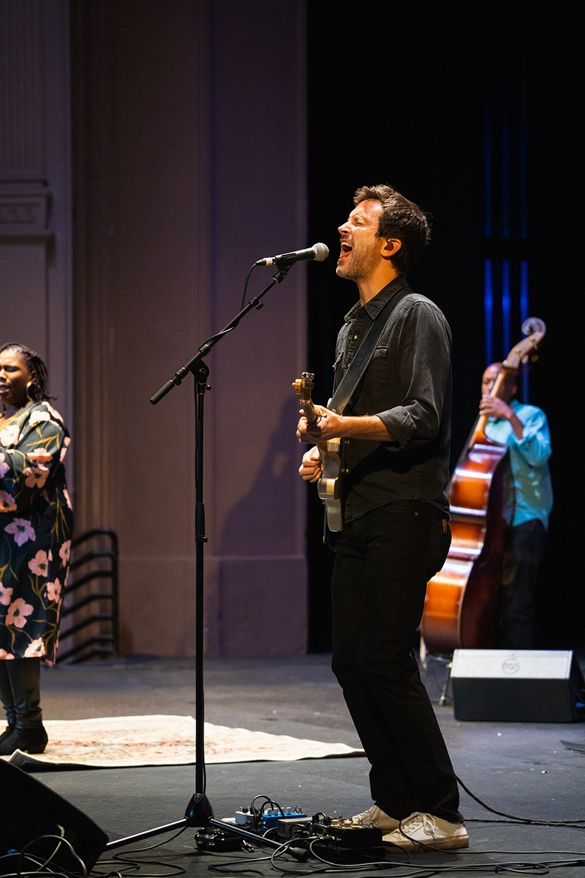 Grammy award winning Ranky Tanky performs at Sottile Theatre, College of Charleston.