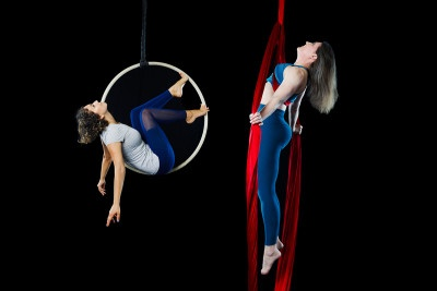 CofC Educators Find Their Ground in Aerial Arts