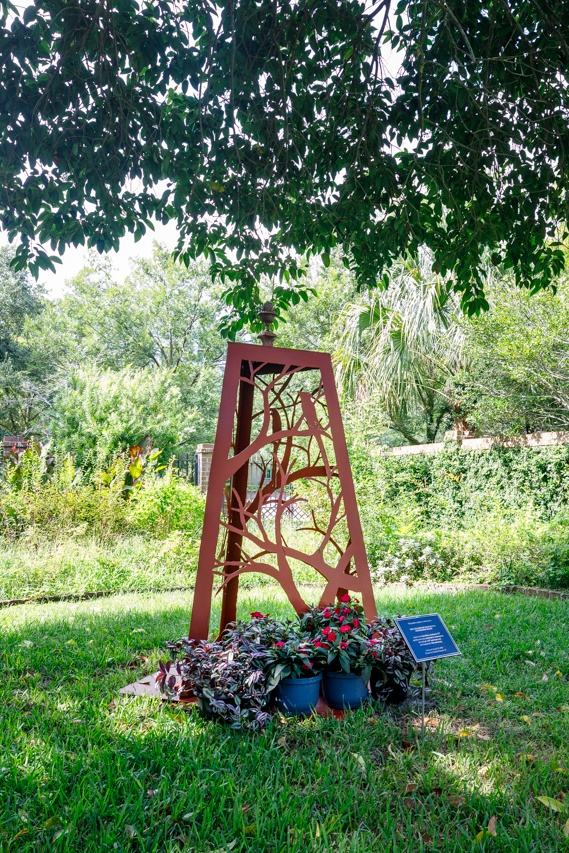 Blacklock House Statue Dedication