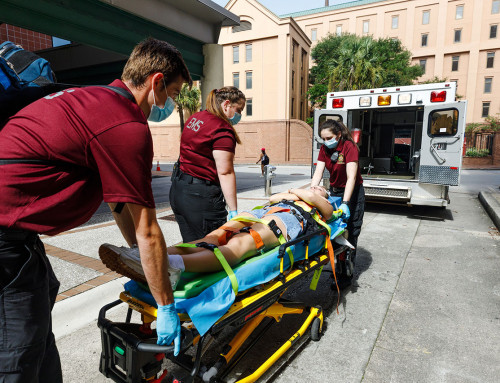 College of Charleston EMS Comes to the Rescue on Campus and Beyond