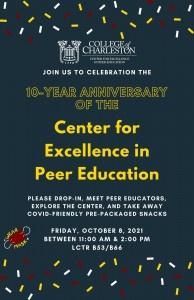 CEPE 10-Year Celebration flyer