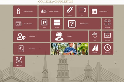 MyPortal Gives CofC Employees a Simpler Online Experience